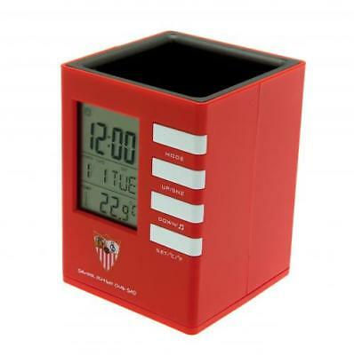Sevilla F.C. Pen Holder Alarm Clock