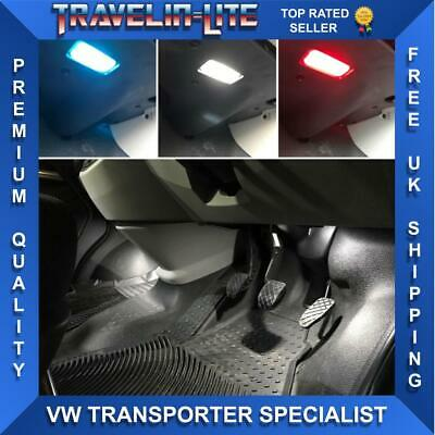 For VW T5 T5.1 T6 Transporter Footwell Led Lights Upgrade Kit & Trim Removal Kit