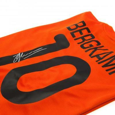 Netherlands Bergkamp Signed Shirt