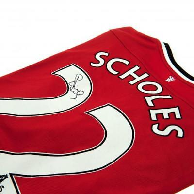 Manchester United F.C. Scholes Signed Shirt