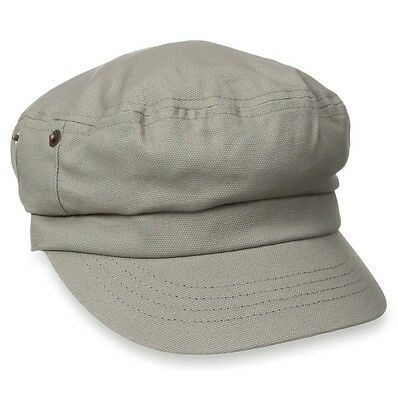 Kangol CANVAS FISHERMAN Cap Army Military Driving Hat Putty K0930FA Size S  M NEW 247ab02e58d