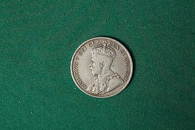 1919 C Newfoundland 50 Cents Coin (92.5% Silver) - King George V