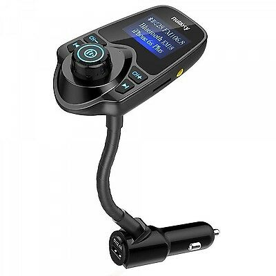 Car FM Transmitter Wireless Bluetooth Radio Adapter Mobile Phones USB Charger