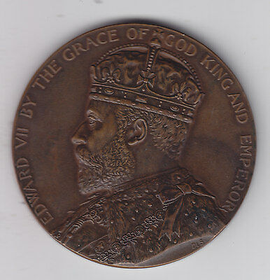 1903 Board of Education Bronze Edward VII - National Medal for Success in Art