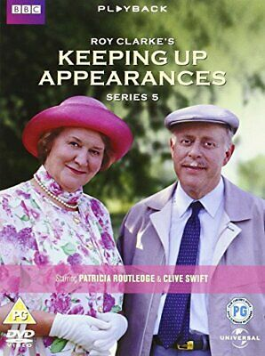 Keeping Up Appearances - Series 5 [1995] [DVD] - DVD  12VG The Cheap Fast Free