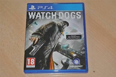 Watch Dogs PS4 Playstation 4 **FREE UK POSTAGE**