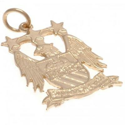 Manchester City F.C. 9ct Gold Pendant EC