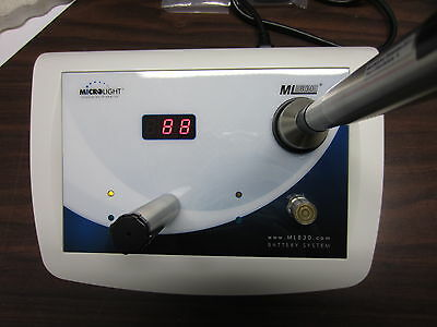 Microlight ML830 Cold Laser, cordless, rechargeable, Excellent!