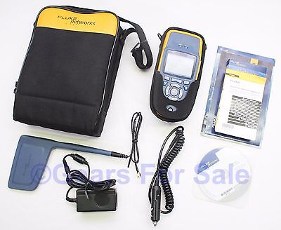 Fluke Networks AirCheck LE WiFi Tester with directional Antenna