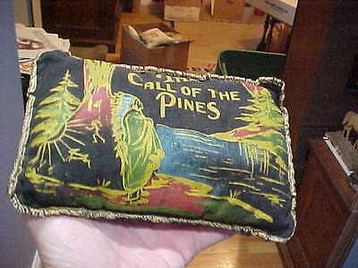 Vintage Balsam Pine Pillow Call Pines Native American
