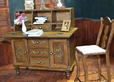 Doll Furniture Desk with Chair~ 1/6 scale Barbie Silkstone Royalty