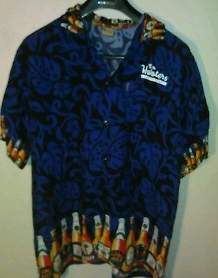 Hooters Button down shirt  Beer Bottles 2XL pre warn South Tampa