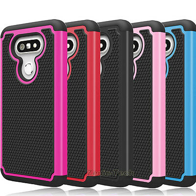 For LG G5 Case Shockproof Armor Hybrid Rugged Dual Layer Hard Phone Back Cover