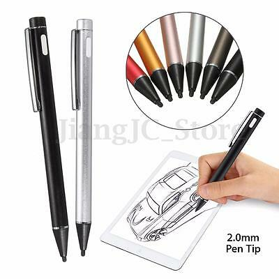 Universal 2.0mm Active Stylus for iPad 2 Samsung Capacitive Screen Touch Pen