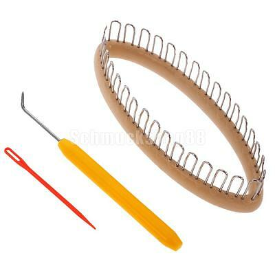 Strickring Set Strickrahmen Strickliesel Haken Knitting Loom