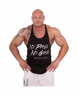 Bodybuilding Shirt Muskelshirt Trainings-Shirt Fitness Tanktop Kraftsportshirt