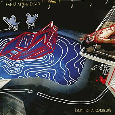 Panic! At The Disco - Death Of A Bachelor - Panic! At The Disco CD T6VG The