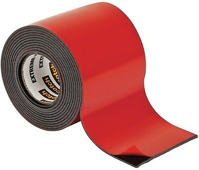 Two-Sided Mounting Tape Interior Exterior Heavy Duty All Weather Black 2 X 4 Ft