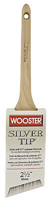 WOOSTER BRUSH Silver Tip Thin Angle Sash Paintbrush, 2-1/2-Inch