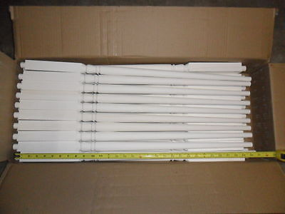 Box of 50 New Primed Poplar Stair Balusters Spindles