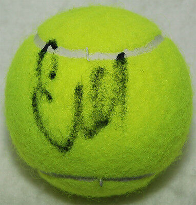 Ekaterina Makarova Tennis autograph, In-Person signed Tennis Ball