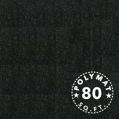 20ft x4ft Black Carpet Fabric Trade show back drop WALL DISPLAY LINER AUTO HOME