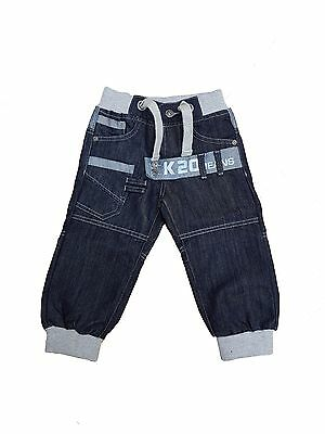 BOYS KIDS JEANS EZB292 LIGHT BLUE CUFFED LEG DESIGNER ALL SIZES 24-29 REDUCED