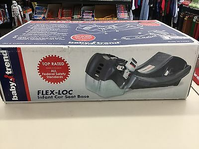 Baby Trend Flex-Loc Car Seat Base, Black, NEW