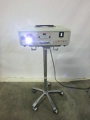 LUXTEC 9300 Series 9000 Supercharged Xenon Light Source w/ Stand