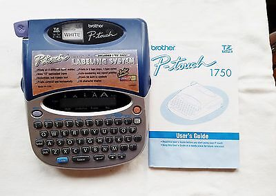 Brother P-Touch PT-1750 Electronic Labeling System Label Maker - Tested