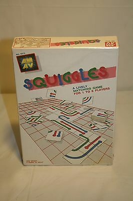 Sealed Squiggles: A Lively Matching Game! AM AV RARE Vintage 1988 A161