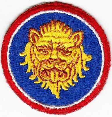 WW2 106th Infantry Golden Lion Division Patch