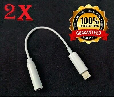 iPhone7 / 7 Plus AUX Cable Dongle Cord Lightning to Headphone Jack Adapter