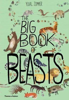 The Big Book of Beasts by Yuval Zommer, Barbara Taylor (Hardback, 2017)