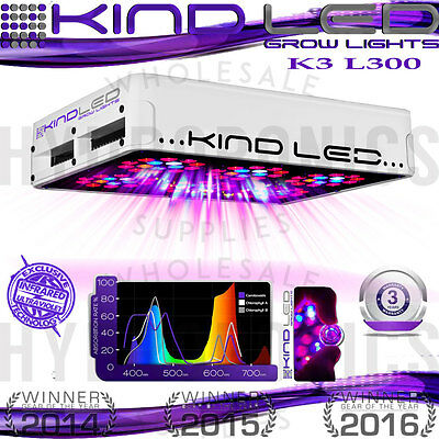 Kind LED Grow Lights K3 Series L300 - Authorized Kind LED Retail Store! Warranty