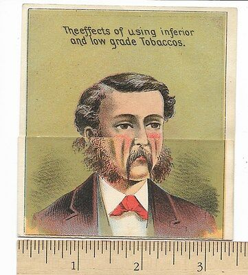 Happy Thought Wilson McCallay's Tobacco Metamorphic Trade Card