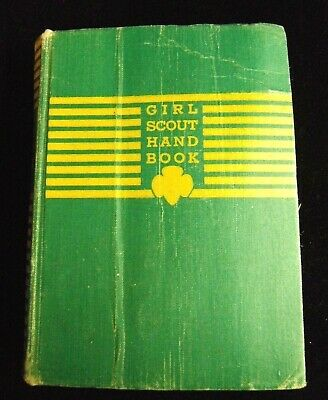 1942 Girl Scout Handbook for the Intermediate Program Soft Cover