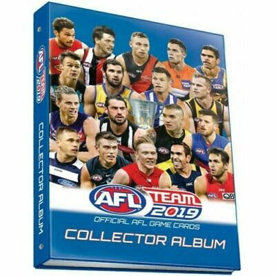 2017 Afl Teamcoach Team Coach Trading Game Card Album Folder + Prize Card New