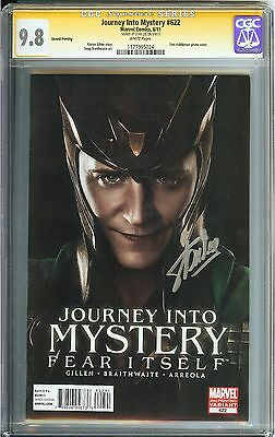 Journey Into Mystery #622 CGC 9.8 NM/MT SIGNED STAN LEE LOKI Marvel 2nd Printing
