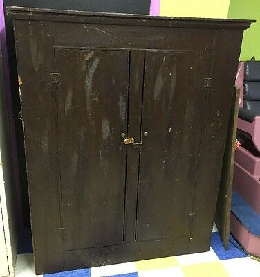 Old Antique Primitive Wooden Cupboard/ Cabinet, Local PA Pick Up Only