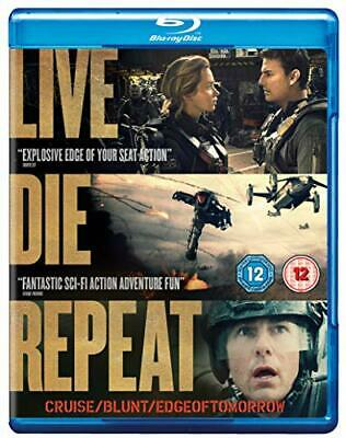 Live Die Repeat: Edge of Tomorrow [Blu-ray] [2014] [Region Free] - DVD  58VG The
