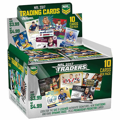 2017 NRL ESP Traders Rugby League Trading Cards Factory Sealed Box of 36 Packs