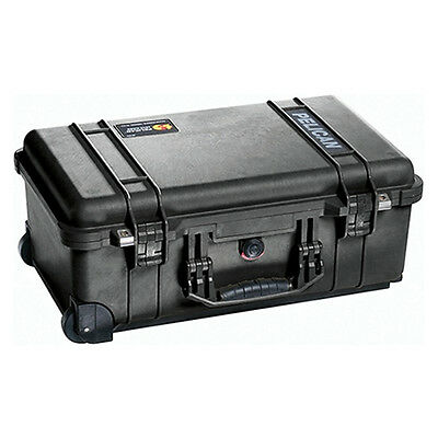 NEW Pelican 1510 Carry On Equipment Empty Case, Watertight and Crushproof, Black