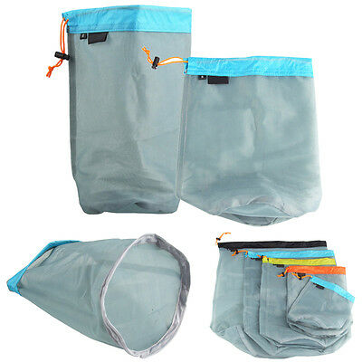 Nylon Plain Drawstring Bags -luggage Stocking - Storage / Laundry Bag Travel XL