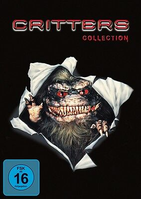 Critters - Collection / Komplett Teil 1+2+3+4 (1-4) - NEU OVP - 4 DVDs