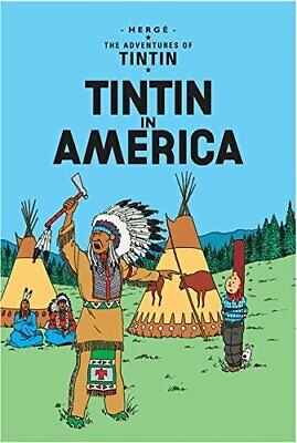 Tintin in America (The Adventures of Tintin) by Herg� Paperback Book The Cheap