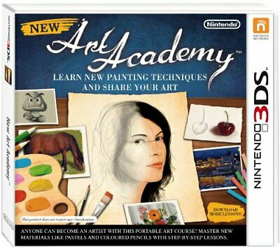 New Art Academy (Nintendo 3DS) - Game  5SVG The Cheap Fast Free Post