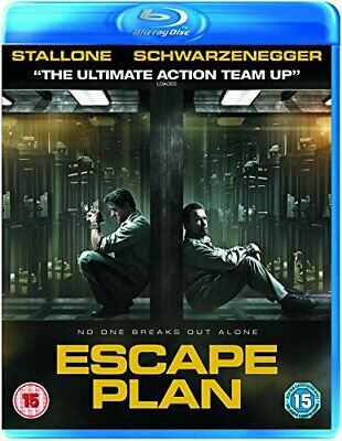 Escape Plan [Blu-ray] - DVD  L2VG The Cheap Fast Free Post