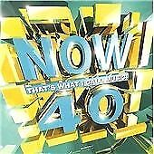 Various Artists : Now Thats What I Call Music! 40 CD