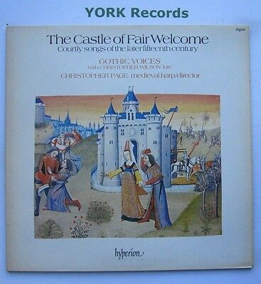 A 66194 - THE CASTLE OF FAIR WELCOME - PAGE - GOTHIC VOICES - Ex Con LP Record
